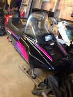 Yamaha ovation snowmobile.