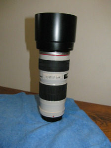 Canon 70-200mm F4 non IS $500.