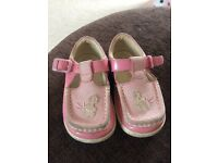 Clarks size 5f shoes