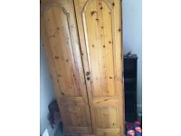 Wood wardrob