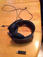 Sony wireless headset w/ charger