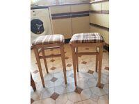 3 Kitchen stools