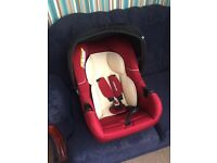 Mothercare car seat as new