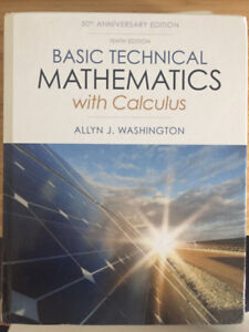 SELLING Basic Technical Mathematics with Calculus (10th edition)