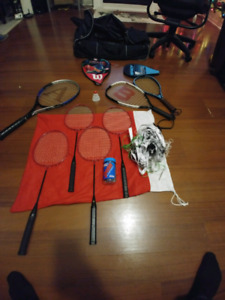 Badminton/tennis set