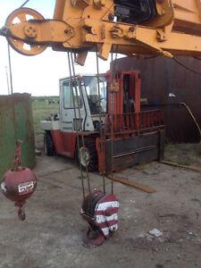 Premium high capacity Nissan Yard Forklift