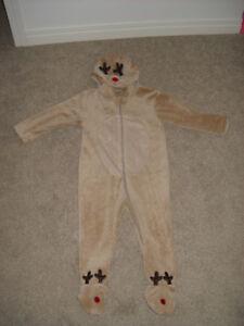 KIDS 3T TO 4T PLAY/HALLOWEEN COSTUME - REINDEER