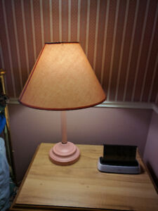 Pink table lamps