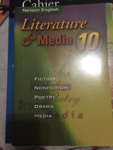 Literature and media 10 textbook available
