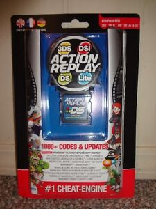 3DS, DS Action Replay Codes and updates