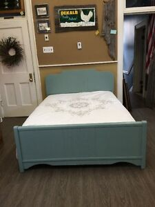 3 PIECE DOUBLE BED SET - REFINISHED!!!