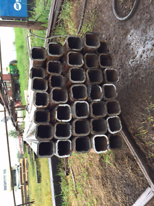Drill pipe and square tubing