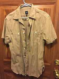 Beige M men's dress sleeveless shirt London Ontario image 1