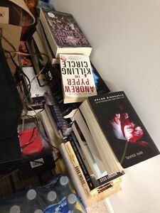 Huge lot of novel books twilight and more