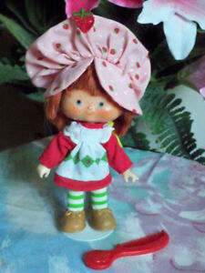 """Strawberry Shortcake"" Doll, By:  Kenner, 1980"