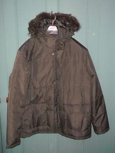 Manteau d'hiver hommes taille xl