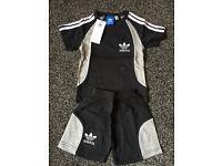 Adidas kids shorts Tshirt set