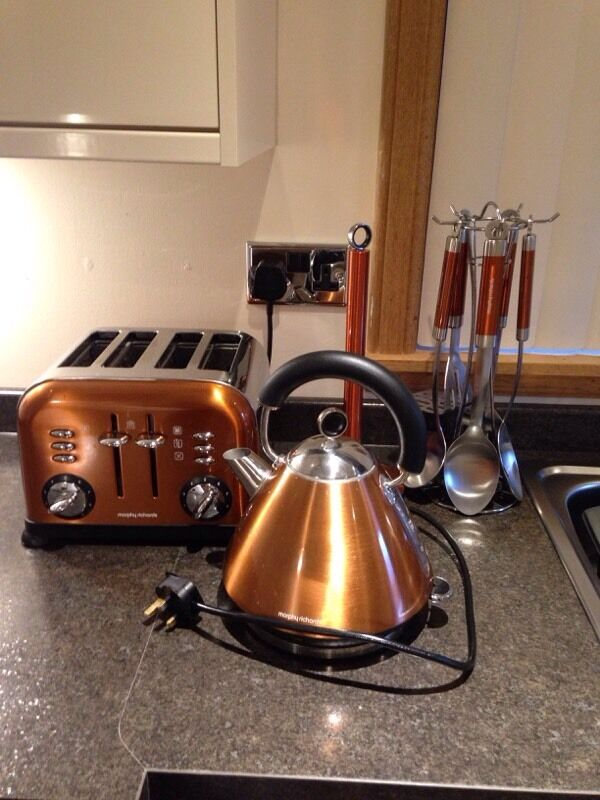 Morphy Richards Copper Kitchen Set in Mintlaw  : 86 from www.gumtree.com size 600 x 800 jpeg 72kB