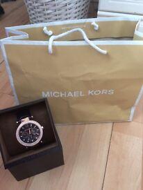 Genuine ladies Michael Kors watch worn once