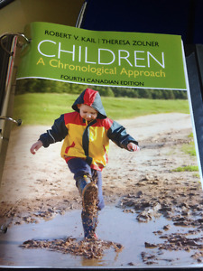 UW Psych 211: Children A Chronological Approach Textbook