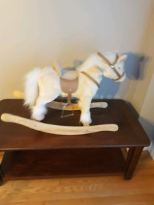 Rocking horse with sounds and motion