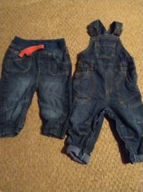 Winter jeans 6-9 months