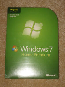 Windows 7 Home Premium Upgrade 32- And 64- Bit Discs For Sale