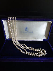 Pearls from Birks for sale