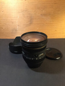 Sigma 24-70mm f/2.8 IF EX DG HSM Lens For Canon + protector