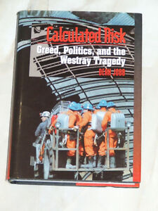 Calculated Risk -- Greed, Politics and the Westray Tragedy