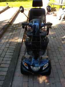 Invacare Pegasus 4 Wheel Scooter, Blue with 8A Charger Kawartha Lakes Peterborough Area image 5