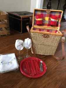 Picnic basket from pier 1