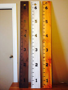 Ruler Growth Charts for kids Strathcona County Edmonton Area image 1