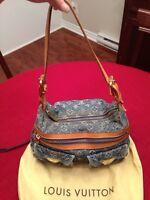 Authentic baggy pm denim Louis Vuitto