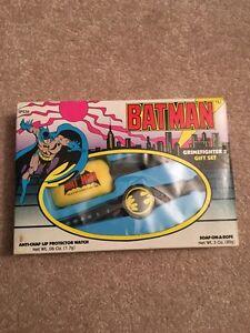 1989 Batman Watch Crimefighter MIB