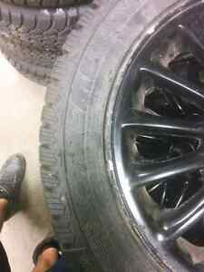 Grand AM winter tires and rims Kitchener / Waterloo Kitchener Area image 6