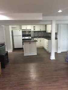 Pickering bright 3 bedrm bsmt Apt. for rent Bayly/Liverpool