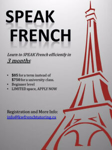 SPEAK French in 3 months