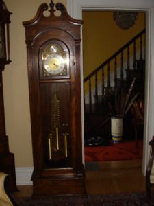 Grandfather Clock- Warranty and Delivery