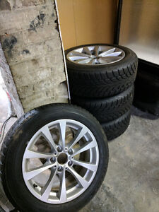 BMW BRIDGESTONE BLIZZAK SNOW TIRES
