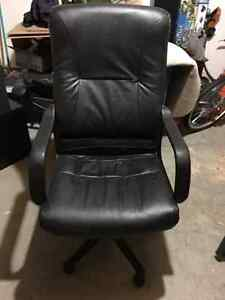 Leather Office Chair Windsor Region Ontario image 1