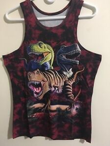 Awesome NEW Dinosaurs tank top