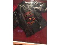 Harley Davidson leather jkt age 10/11