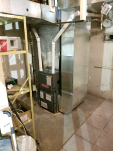 Furnace - Ac installation -Duct work -Relocations -Gaslines