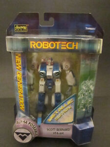 Robotech Toyfare Exclusive Scott Bernard VFA-6H Metallic Alpha