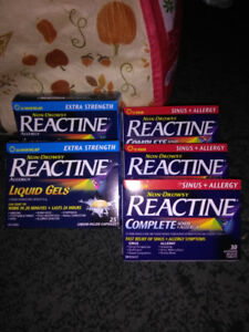 Reactine | Local Health & Special Needs Items in Ontario