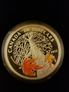 Autumn Canopy $20 coin - Royal Canadian Mint