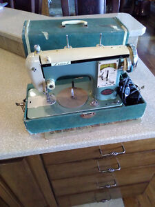 Vintage Portable Sewing Machine