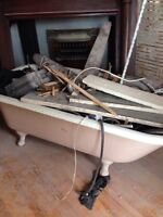 Antique Clawfoot Tub