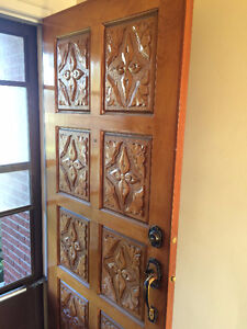 Beautiful Antique Door with awesome detailing